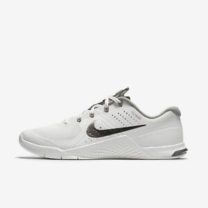 87811923f8b Nike Metcon 2 Women s Training Shoes White Pewter 821913 103 Size 7 ...