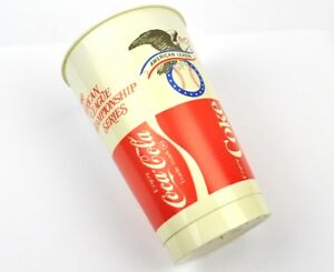 COCA-COLA-COKE-USA-1980-KANSAS-CITY-AMICIZIA-Plastica-coppa-Tumbler-Tazza