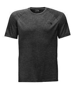 The-North-Face-Herren-Ambition-Wicking-laufen-S-T-Shirt-Oberteil-TNF-schwarz