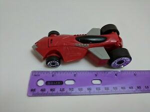 Battle Force 2010 Hot Wheels Mcdonald S Happy Meal Toy Car Red No Driver Ebay