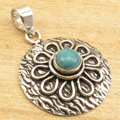 Many Color 925 Silver Plated FASHION Gift ROUND STONE Pendant Many Style