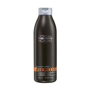 Loreal-Homme-Fiberboost-Shampoo-250ml-Guarana-Energie-Herren-Pflege
