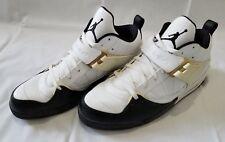 3ce9ba6f2342ba item 6 Mens Sz 15 White Black Air Jordan Flight 45 Leather Basketball Shoes  364756-103 -Mens Sz 15 White Black Air Jordan Flight 45 Leather Basketball  Shoes ...
