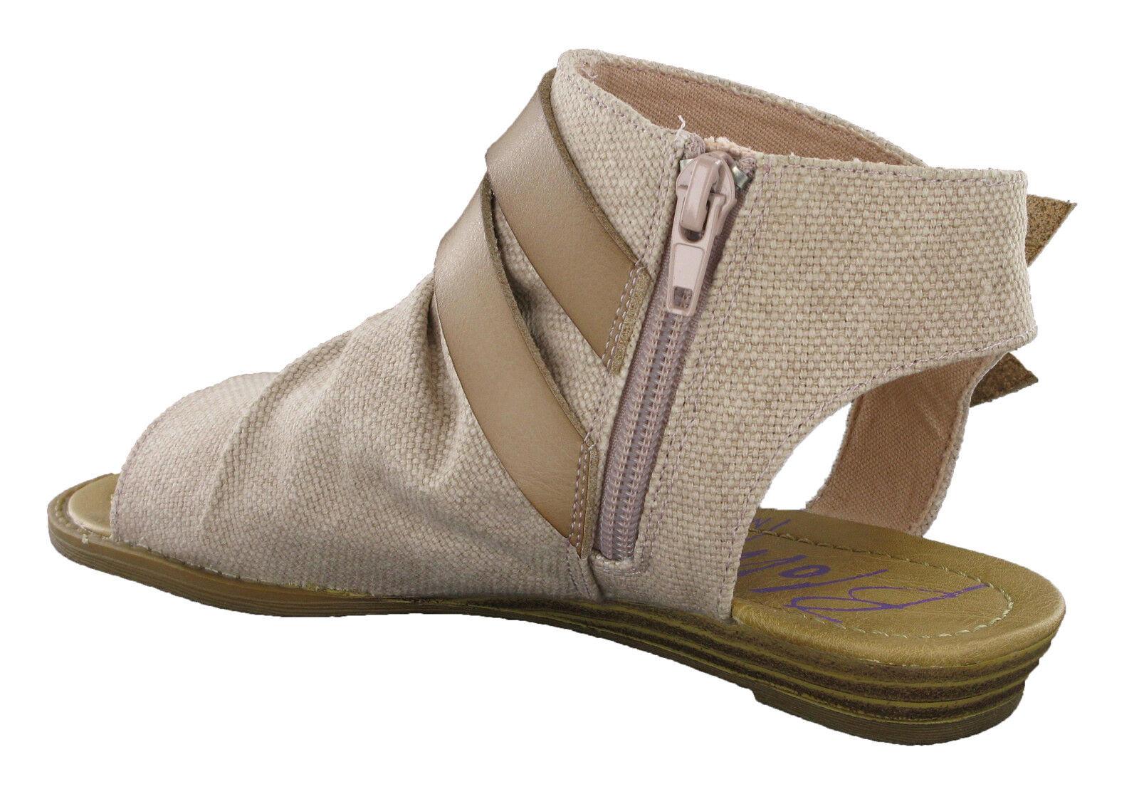 Blowfish Balla Flats Sandalias de Moda de Mujer Mujer Mujer Punta Abierta Casual Zapatos De Las Señoras De Cremallera c62733