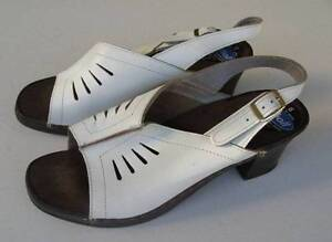 Vintage-Scholl-Womens-Sandals-Size-6