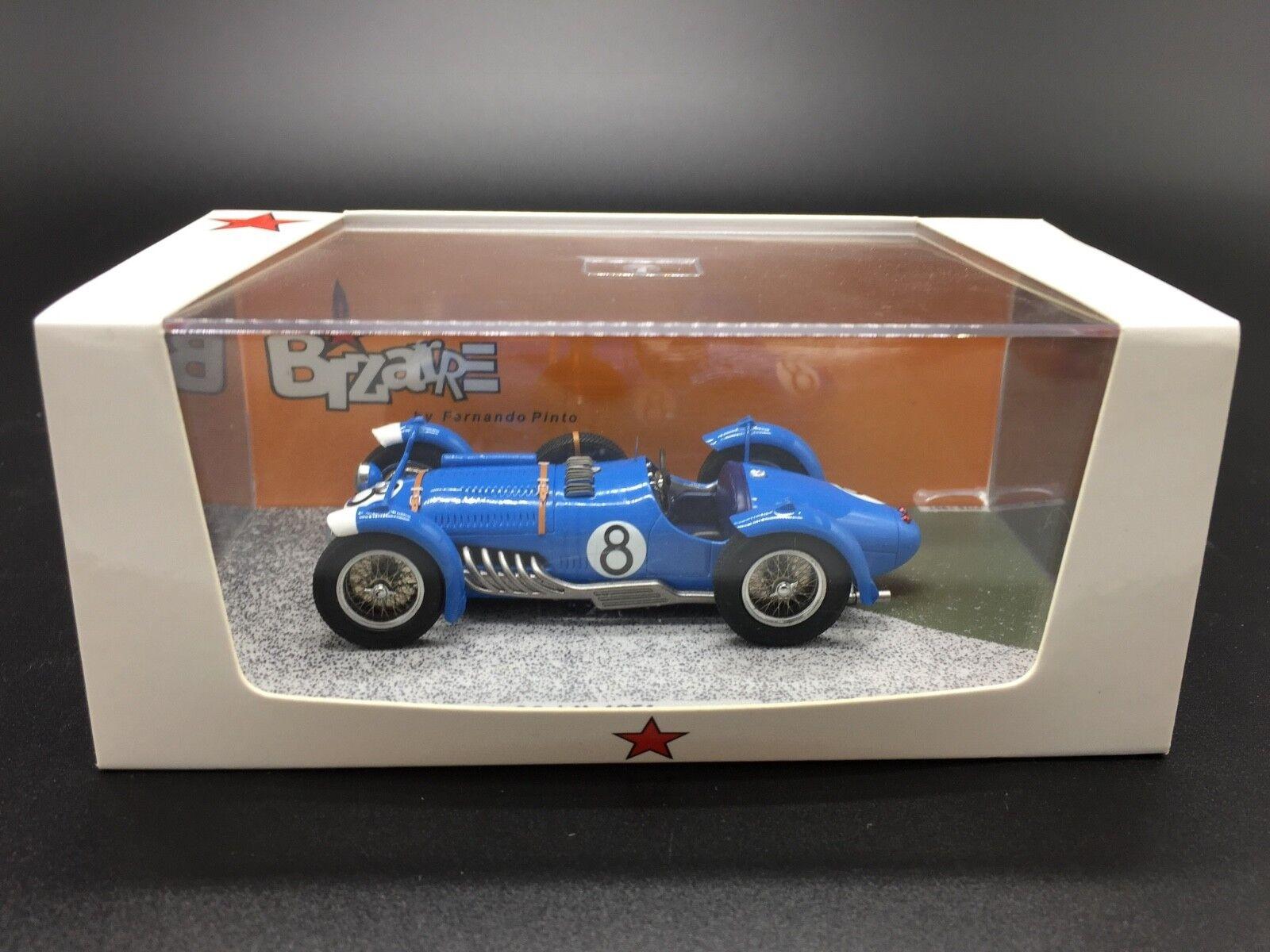 Talbot Lago T26 Gs N.8 Retirosso Le Mans 1951 Chaboud-Vincent 1 43 Bizarre BZ431