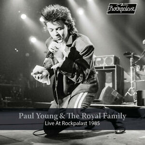Paul Young & The Royal Family - Live At Rockpalast 1985 (NEW CD+DVD)