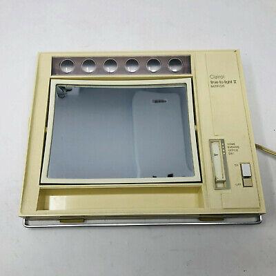 Vintage Clairol True To Light V Makeup Mirror 4 Way Light