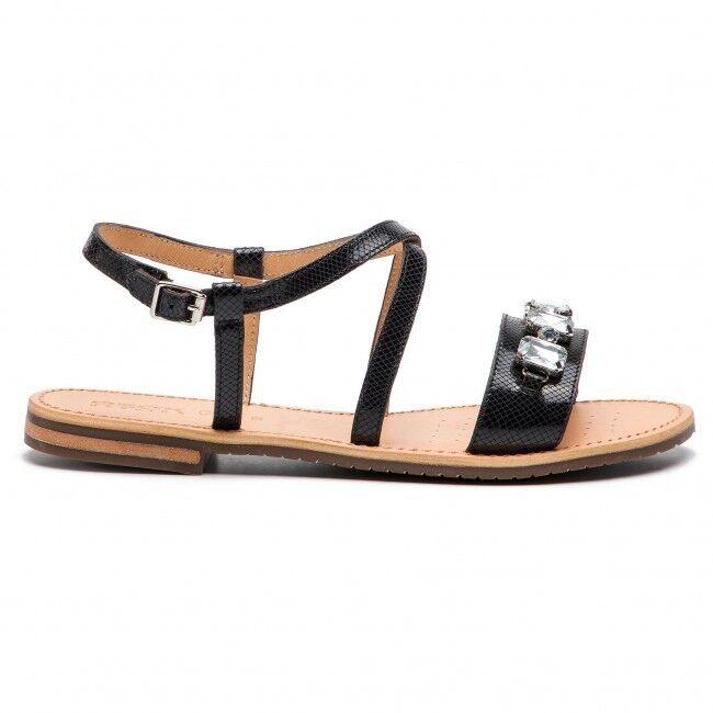 NEU GEOX Damen Sandalen Sandaletten Pamtoletten D822CD D Sozy D Schuhgröße 40