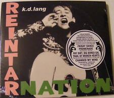 K.D. LANG REINTARNATION KD LAND REINTAR NATION MUSIC CD NEW SEALED PROMO