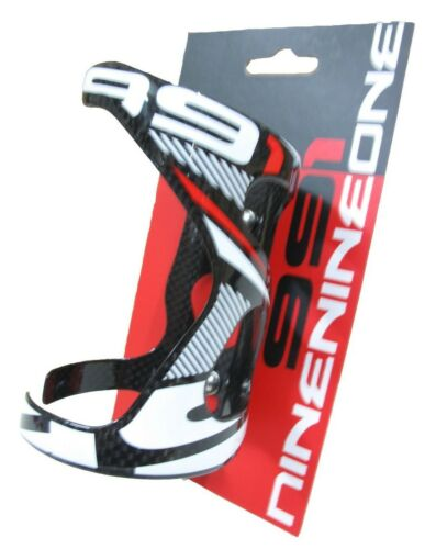 991 Side Xtraxtion 3K Carbon Water Bottle Cage Glossy Black Red 74mm 1pc