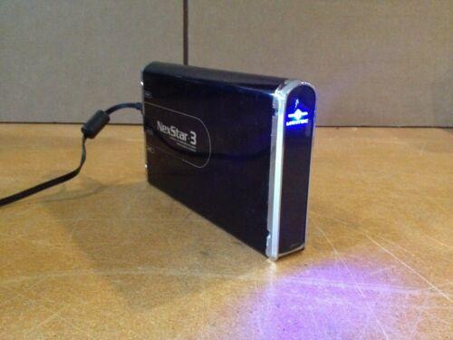 "3.5/"" SATA to USB 2.0 /& eSATA External HD Enclosure SLED Onyx Vantec NexStar3"