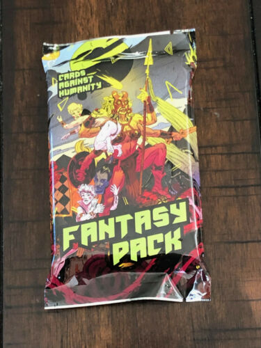 Cards Against Humanity Expansion Set Sealed Stocking Stuffer Fantasy Pack