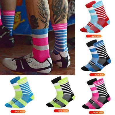 Breathable Cycling Socks Unisex Road Mountain Bike Sport Sock Footwear Sports