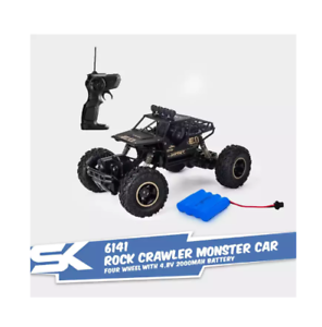 6141-Four-Wheel-Climbing-Rock-Crawler-Monster-Car-1-16-High-Speed-Remote-Black