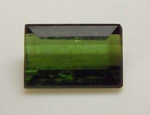 .77 CT RECTANGLE EMERALD CUT LOOSE FACETED NATURAL GREEN TOURMALINE (GT5-30)