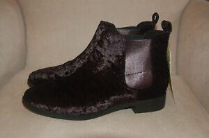 44ba8094ae23 New TOMS Black Velvet Women s Ella Booties Shoes Ankle Boots Booties ...