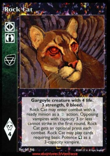 Heirs to the Blood Rock Cat VTES V:TES Ally
