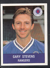 Panini 1991 Football Sticker - Sticker No 472 - Rangers - Gary Stevens