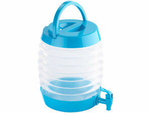 Wasserkanister faltbar 7,5 l Wasserbehälter Camping Wassertank Kanister