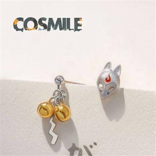 S925 Silver Kamisama Kiss Momozono Oinari-sama Fox Japanese Earrings Ear stud Sa