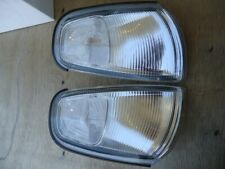Fits 1995 1996 Toyota Camry Side Park Lamps Lights Chrome Clear 312 1507ptb