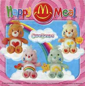McDonald's MC DONALD'S HAPPY MEAL - 2004 Care bears Pezzi singoli