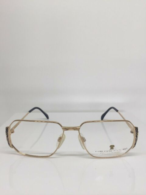 231c83830a3 New NEOSTYLE Boutique Mod. 329 Gold C. 693 Unisex Eyeglasses Frames NOS  Germany