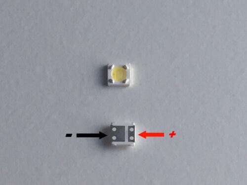 LED 3535  x STRISCE STRIP LED SAMSUNG LG RETROILLUMINAZIONE TV 3v  350ma
