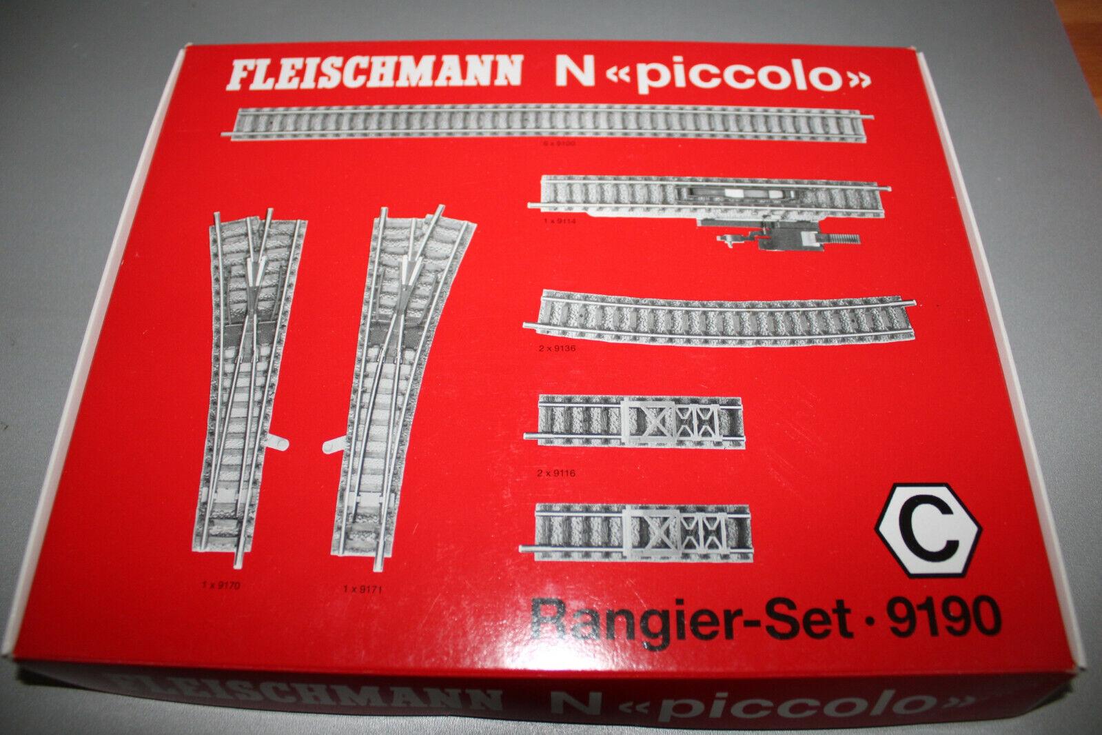 Fleischmann 9190 oltrepassare-SET C Spur N OVP