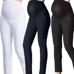 63937b66b1 Image is loading Maternity-Clothes-Pregnancy-Trousers-For-Pregnant-Women- Pants-