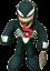 "miniature 1 - Marvel Spiderman Venom Plush Licensed Stuffed Toys Gift Kids Boys Girls Mini 9"""