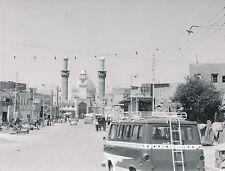 KARBALA c. 1960 - Population La Mosquée Al Husayn  Irak - Div 6179