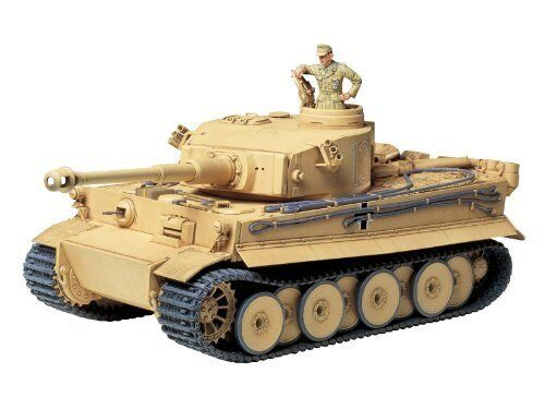 TAMIYA 1 35 German Tiger I Initial Production Africa Model Kit NEW from Japan