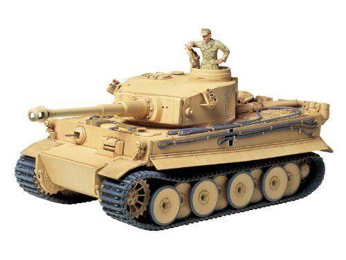 Tamiya 1 35 Tedesco Tiger i  Iniziale Produzione Africa Kit modellolololo Nuovo Da  la vostra soddisfazione è il nostro obiettivo