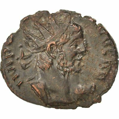 #65374 Cohen #36 50-53 Antoninianus 2.20 To Have Both The Quality Of Tenacity And Hardness Billon Au Victorinus
