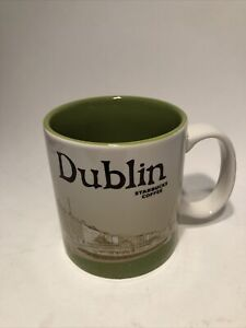 Starbucks Dublin Ireland Global Icon Original Penny Ha'penny Bridge Mug 2018