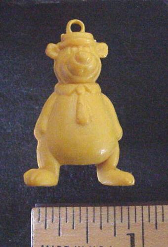 Hanna Barbera Pencil Top Eraser YOGI BEAR Rubber Figure Hong Kong 1970/'s NOS