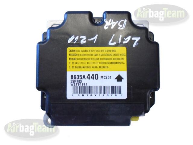 Mitsubishi L200 Airbag SRS ECU Control Module 8635A440 W2T91971 - No Crash  Data