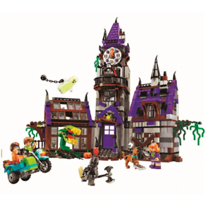 Scooby Doo Mystery Mansion Building Blocks Shaggy Velma Vampire 3D Niños Juguete Regalo
