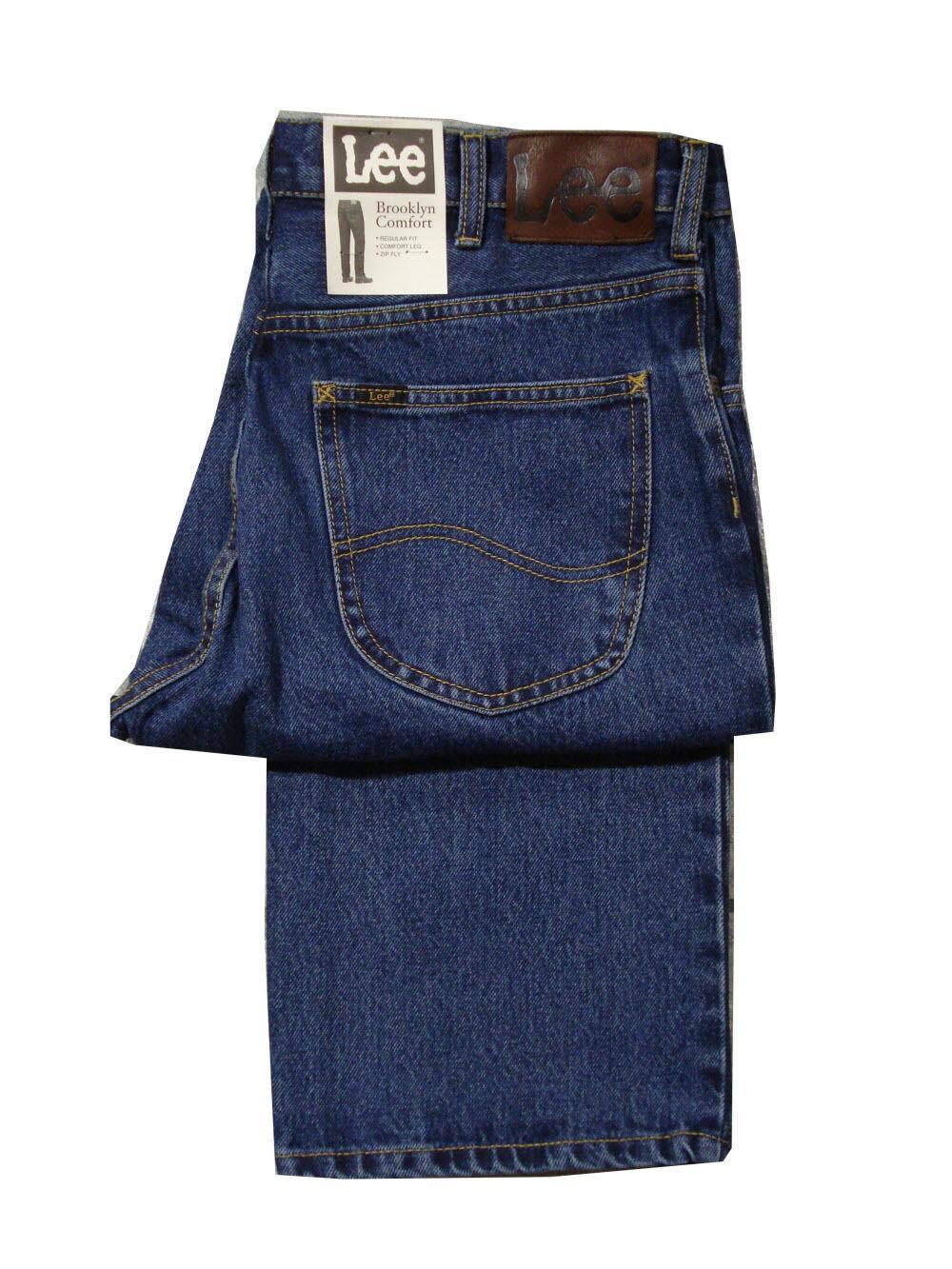 Herren Groß & Hochgewachsen Lee Brooklyn Bequeme Passform Jeans 91.4cm Leg -