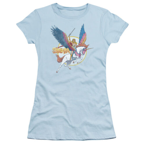 She-Ra Princess Of Power Cartoon TV She-Ra And Swift Wind Jrs Sheer T-Shirt