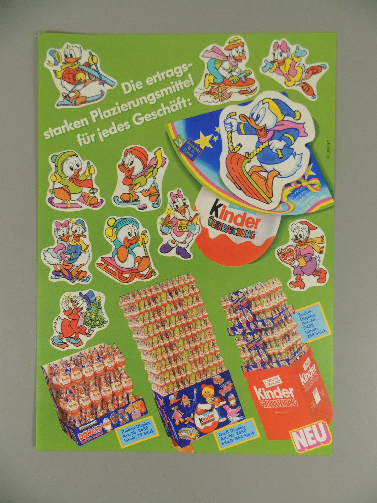 Hat  ADgreen Flier Hat Donalds Fleet Family 1987 - greenreterneu