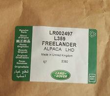 Land Rover Freelander 2: Alpaca Beige Carpet Mat Set LHD - LR002497