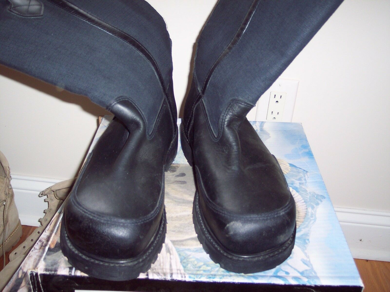 FIREFIGHTER BOOTS 4132 PRO-WARRINGTON SPECIAL PRICING SIZE 8.5D FREE SHIPPING
