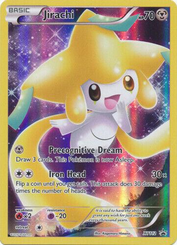 Alternate NM FULL ART Pokemon JIRACHI Card BLACK STAR PROMO Set XY67a Kit Box