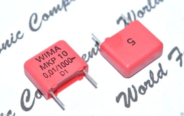 Wima mkp10 47nf 0,047uf 1000vdc 1 KVDC 600vac rm15 New #bp 10 pc