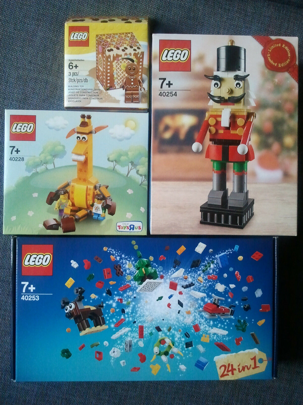 Sets Sets Sets Lego Geoffrey 40228 Christmas 40253 Nutcrackers 40254 Gingerbread 5005156 8cce4b