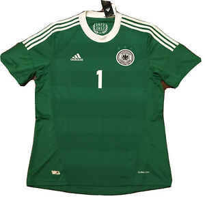Details about 2012/13 Germany Away Jersey #1 Manuel Neuer Large Adidas Soccer Euro 2012 NEW