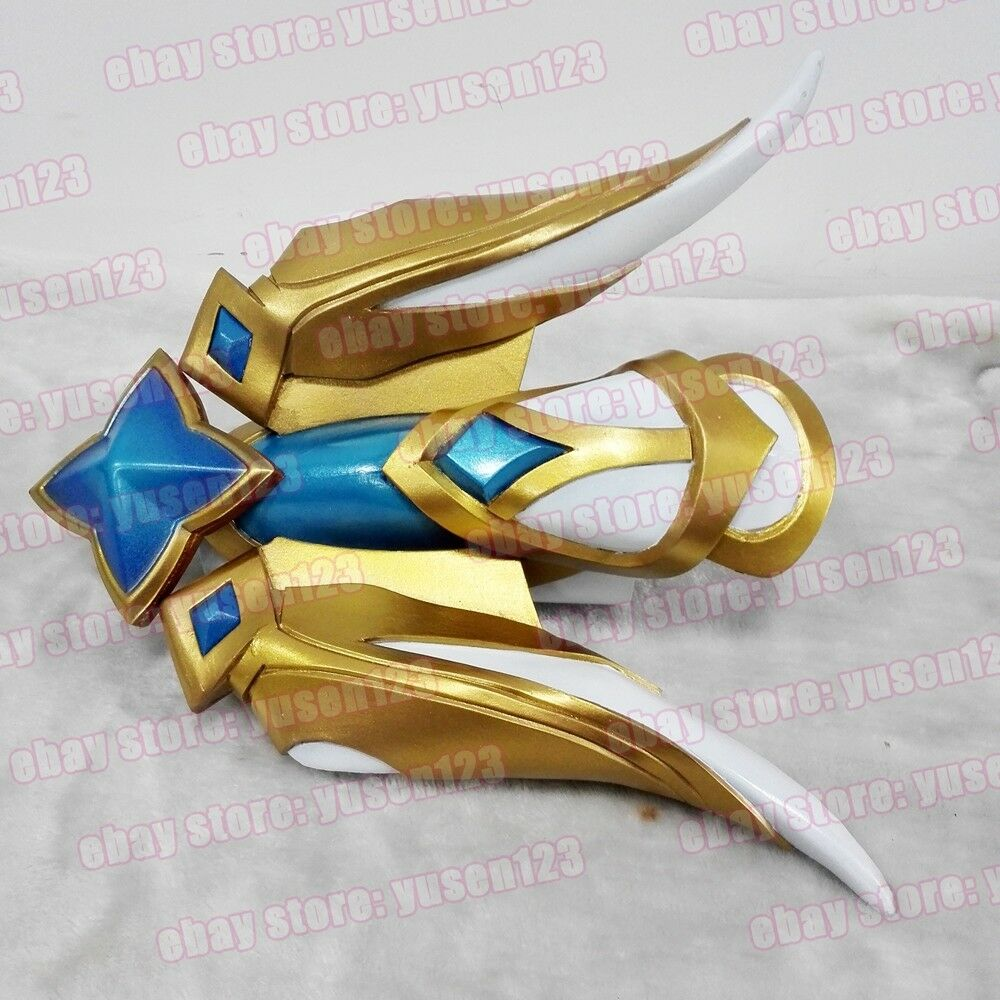LOL League of Legends Star Guardian Ezreal Greaves Goggles Knee Cosplay Prop New
